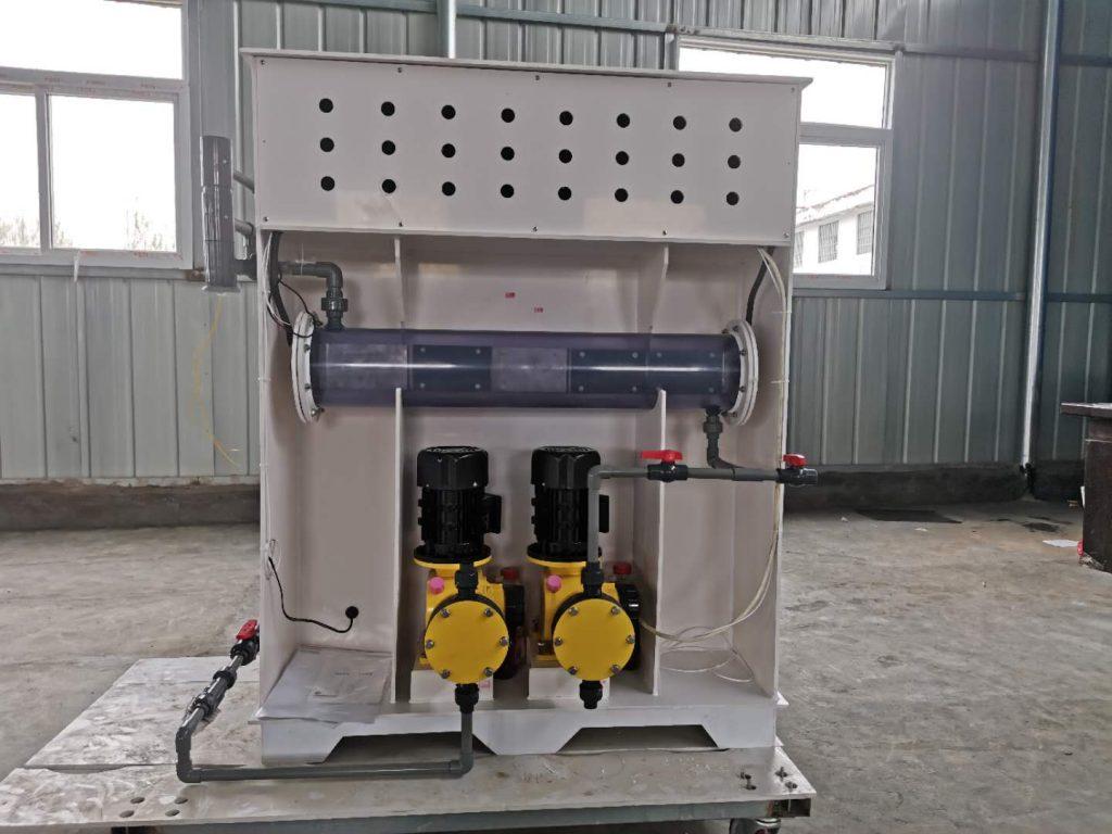 800g电解法次氯酸钠发生器图片,加药计量泵