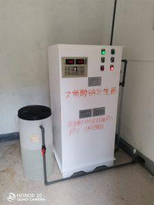 50g/h电解法次氯酸钠发生器消毒柜2007